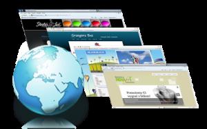 Pisanie stron internetowych przy użyciu systemów CMS oraz ręcznie.